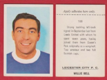 Leicester City Willie Bell Scotland 106
